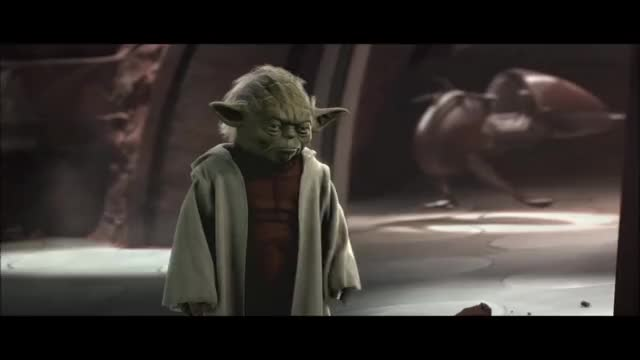Watch and share Attack Of The Clones - Yoda Vs Count Dooku (HD) GIFs by zen0623 on Gfycat