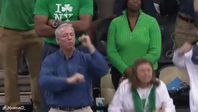 Watch and share Pat Connaughton Parents Reaction.gif (reddit) GIFs by MarcusD on Gfycat