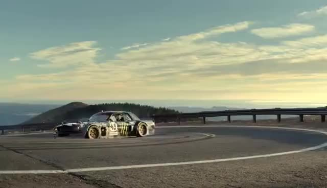 Watch and share TOYO TIRES | Ken Block's Climbkhana: Pikes Peak | Trailer GIFs on Gfycat