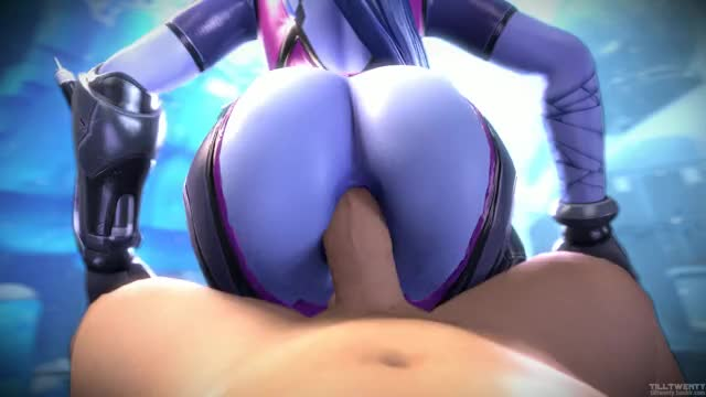 Widowmaker getting her butt fucked (tilltwenty)