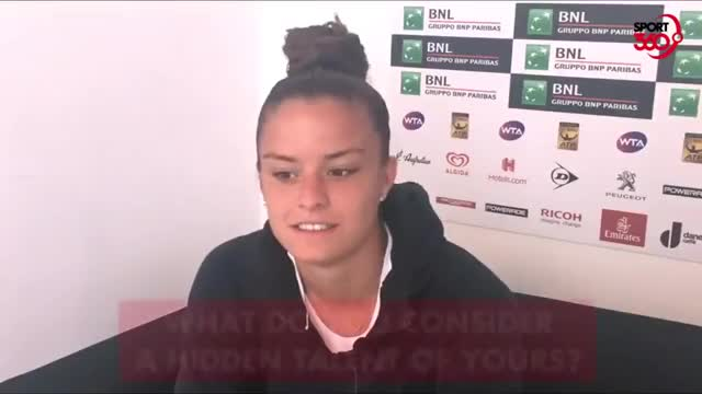 Watch Maria Sakkari GIF by Whatever (@panosak) on Gfycat. Discover more Greece, Greek tennis, Maria Sakkari, Tennis, WTA, funny, talent GIFs on Gfycat