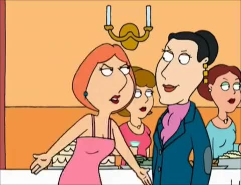 Watch and share Lois Griffin Vs. Gloria Ironbachs GIFs on Gfycat