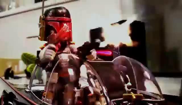 Watch and share Alien VS Predator Stop Motion 異型VS終極戰士 GIFs on Gfycat