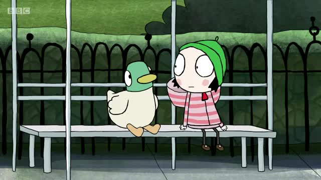 Watch and share Sarah And Duck GIFs on Gfycat