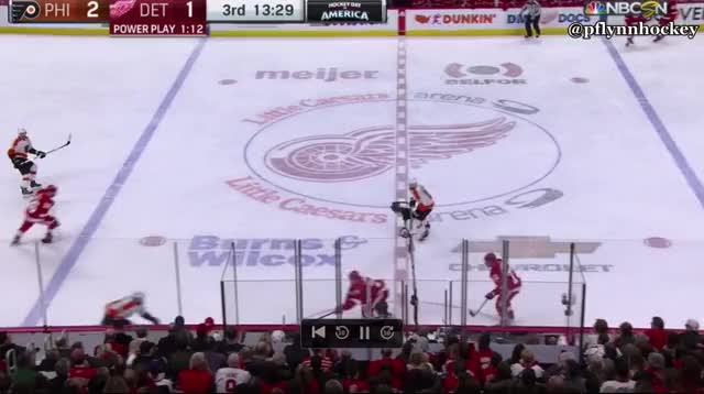Watch and share Philadelphia Flyers GIFs and Detroit Red Wings GIFs by peterwiim on Gfycat