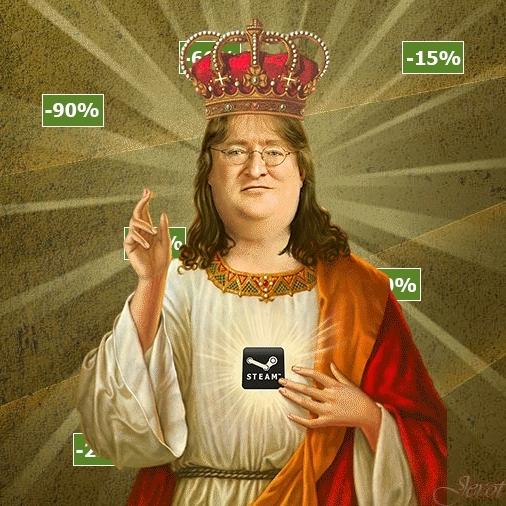 Gabe Newell, steamartworkprofiles,  GIFs