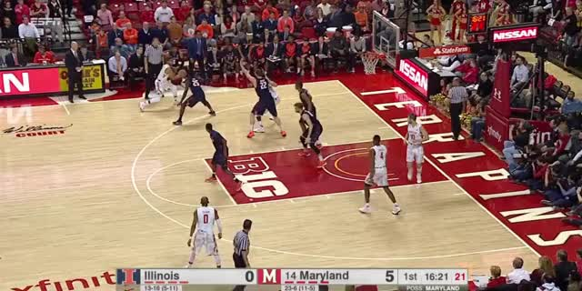 Watch and share Maryland Terrapins GIFs and Diamond Stone GIFs by volsbball22 on Gfycat