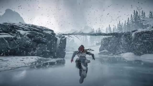 Watch and share Horizon Zero Dawn GIFs and Frozen Wilds GIFs by Falconbox on Gfycat