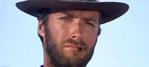 Watch ca load more images grid view beard nod GIF on Gfycat. Discover more clint eastwood GIFs on Gfycat