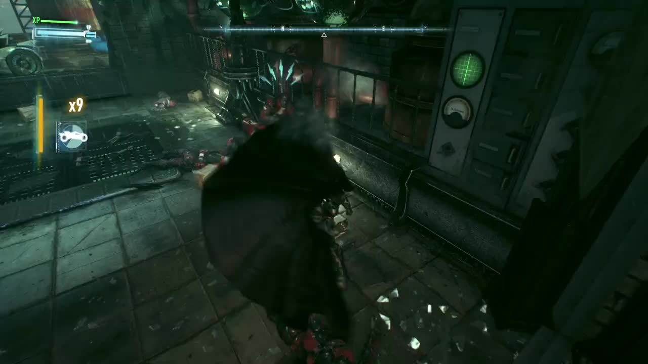 batmanarkham, gamephysics, glitch, twitch, Stretchy GIFs