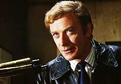 Alfie, Michael Caine, The Ipcress File, The Italian Job, Young Michael Caine GIFs