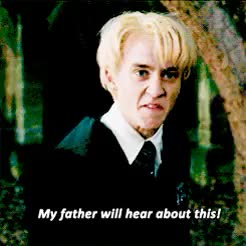 Watch and share Draco Malfoy GIFs and Quotes GIFs on Gfycat