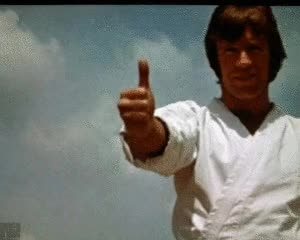 Watch Rare beardless Chuck Norris disapproves GIF on Gfycat. Discover more related GIFs on Gfycat