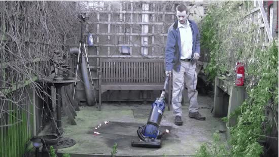 Watch and share Vacuuming animated stickers on Gfycat