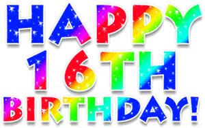 Watch and share Animation Glitter Happy Th Birthday GIFs on Gfycat