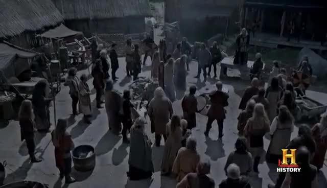 Vikings: Recap: Season 2 Episode 4 - Eye for an Eye | History GIF
