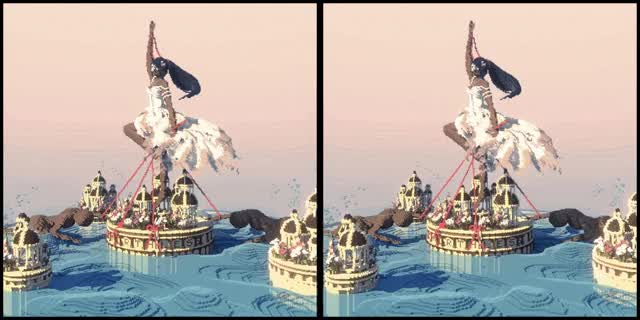 Watch Voxel Art (CrossView - 2 Frame lag) GIF by @antagony on Gfycat. Discover more Crossview GIFs on Gfycat