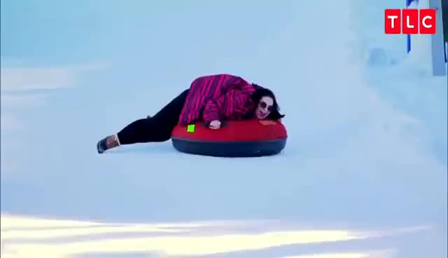 Watch and share Whitney Goes Tubing | My Big Fat Fabulous Life GIFs on Gfycat