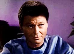 Watch and share Leonard Mccoy GIFs and Star Trek Tos GIFs on Gfycat