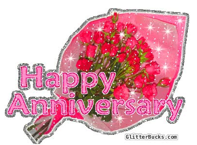 Watch and share Happy Anniversary Mom animated stickers on Gfycat
