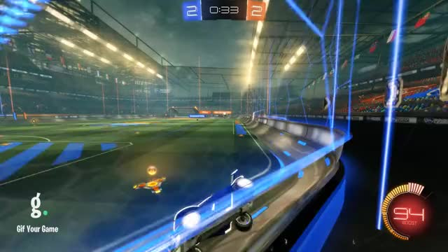 Watch Goal 5: Dabble GIF by Gif Your Game (@gifyourgame) on Gfycat. Discover more Dabble, Gif Your Game, GifYourGame, Rocket League, RocketLeague GIFs on Gfycat