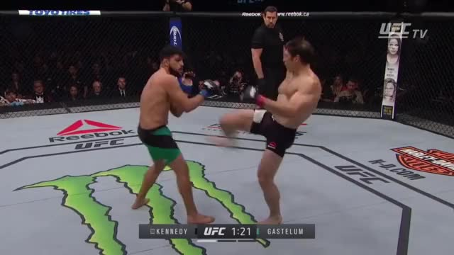 Watch and share Kelvin 'The Fridge' Gastelum GIFs by assuredfob on Gfycat