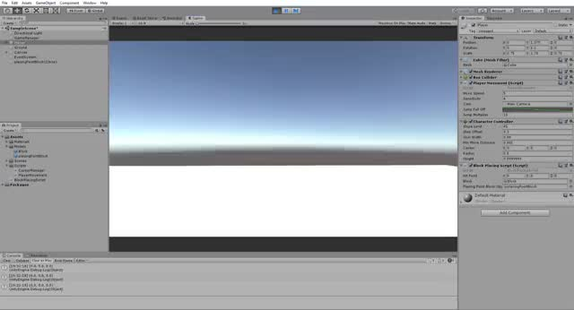 Watch and share Unity 2018.3.11f1 Personal - SampleScene.unity - Minecraft Thing - PC, Mac & Linux Standalone DX11  23 04 2019 19 32 37 GIFs by Mayhem on Gfycat