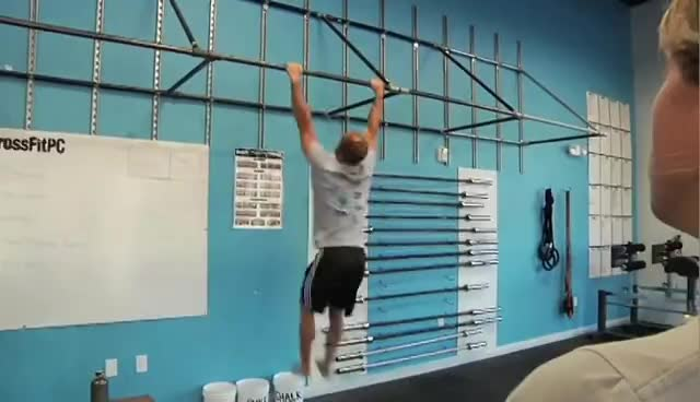 fail, pull-up, CrossFit