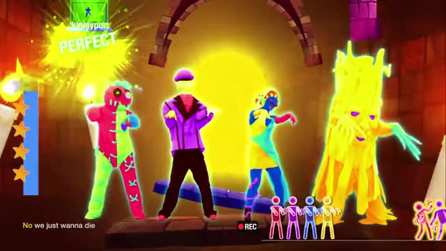 Just Dance 2019: Rave In The Grave - Gold Move 2 GIF by