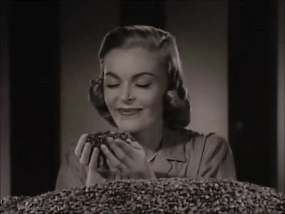 Watch Coffee Woman: Via Maxwell House Coffee (1950s) Marc Rodriguez GIF by Marc Rodriguez (@marcrodriguez) on Gfycat. Discover more 1950s, aroma, beverage, black and white, breakfast, coffee, coffee aroma, coffee bean, coffee beans, coffee woman, drink, marc rodriguez, morning, movie, scent, smell, smile, tasty, tv, vintage GIFs on Gfycat