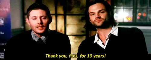 Watch and share 200th Episode Party GIFs and Jared Padalecki GIFs on Gfycat