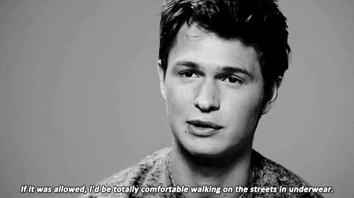 Watch this GIF on Gfycat. Discover more ansel elgort GIFs on Gfycat
