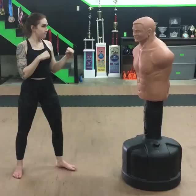 Karate fighter Drew Beatty GIFs