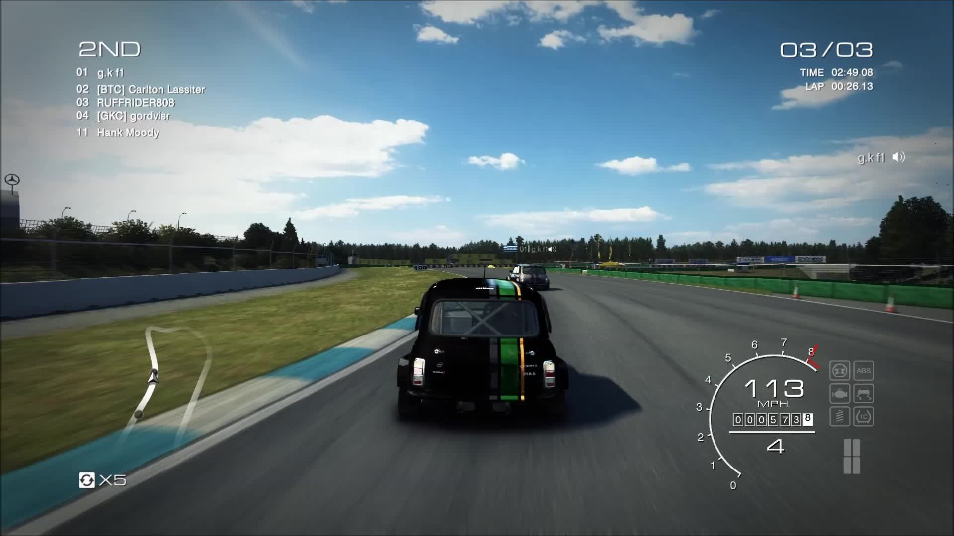 60fpsgaminggifs, 60fpsgfy, grid, [Grid Autosport] Taking the lead (reddit) GIFs