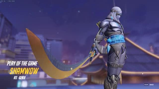 Watch Genji needs healing. GIF by @shamw0w on Gfycat. Discover more Overwatch, genji, healing GIFs on Gfycat