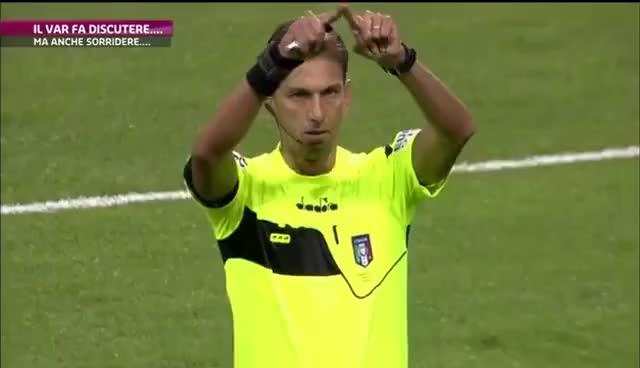 Watch and share Il Var Fa Discutere, Ma Anche Sorridere - Servizio SportMediaset GIFs on Gfycat