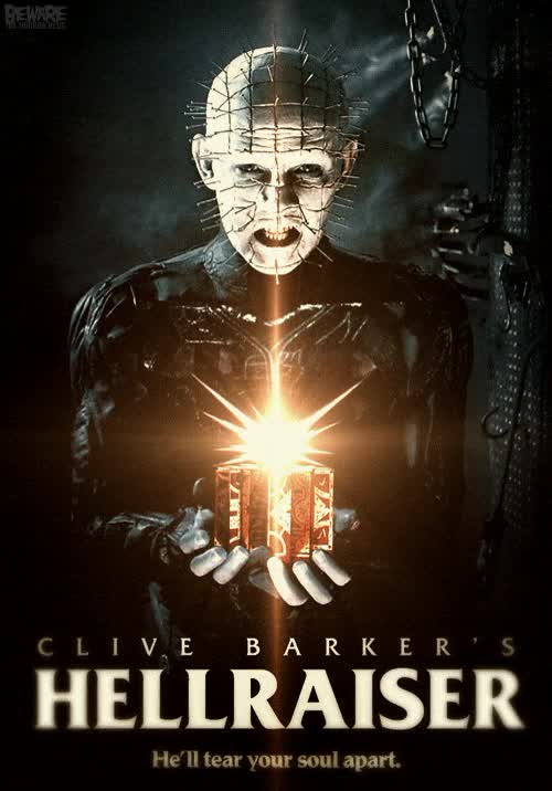 Watch and share Hellraiser GIFs and Horror GIFs by terrorynadamas on Gfycat