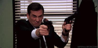 Firearms, michael scarn GIFs