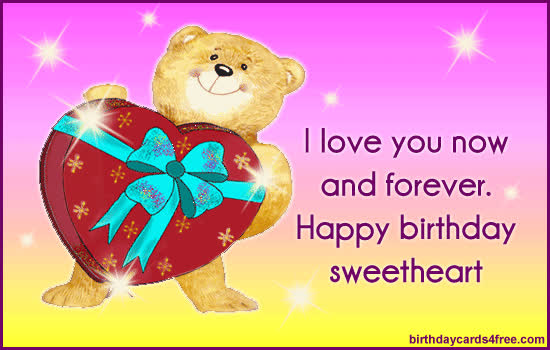More Romantic Birthday Cards At Birthdaycards4free GIF