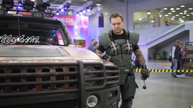 Watch COMICCON RUSSIA 2017 GIF on Gfycat. Discover more related GIFs on Gfycat