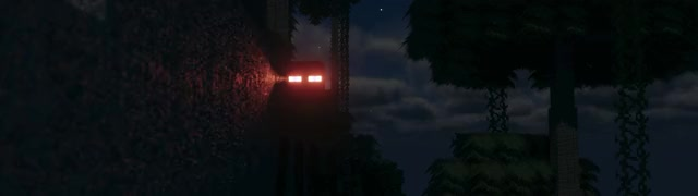 Watch Endermen are... GIF by ӄǟɦǟʟօ (@yuskh) on Gfycat. Discover more Cinematic, Clouds, Continuum.Graphics, Dark, Glowing Eyes, Minecraft, Mojang, Moon, Night, Sanzuow, Scary, Shaders, warthunder GIFs on Gfycat