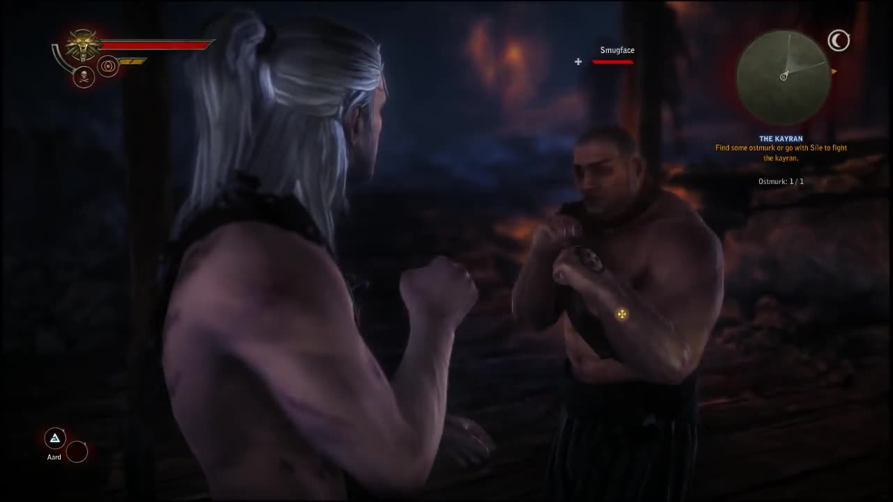 2:, Fighting, Fist, The, Witcher, action, knock, knockouts, nockouts, outs, Witcher 2 Sankyo GIFs