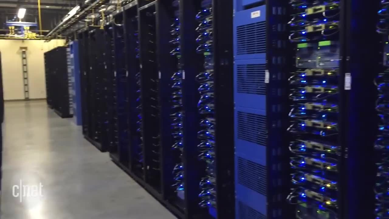Inside Facebook's Oregon data center (CNET News) GIFs
