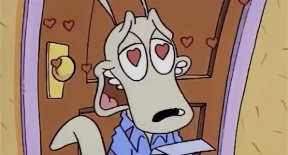 hearts, ren and stimpy,  GIFs
