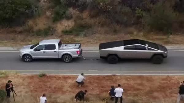 Watch and share Tesla GIFs and Truck GIFs on Gfycat