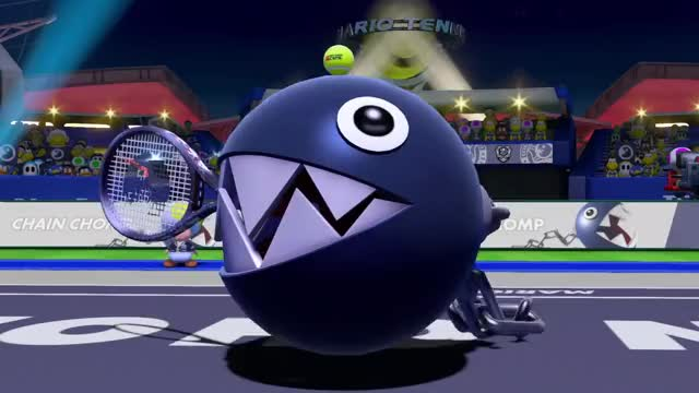 Watch and share Chain Chomp Tennis GIFs and Nintendo Switch GIFs on Gfycat
