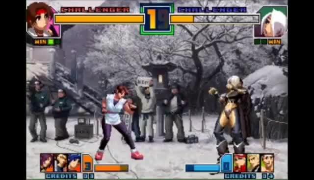 KOF 2001 - Yuri Sakazaki GIFs
