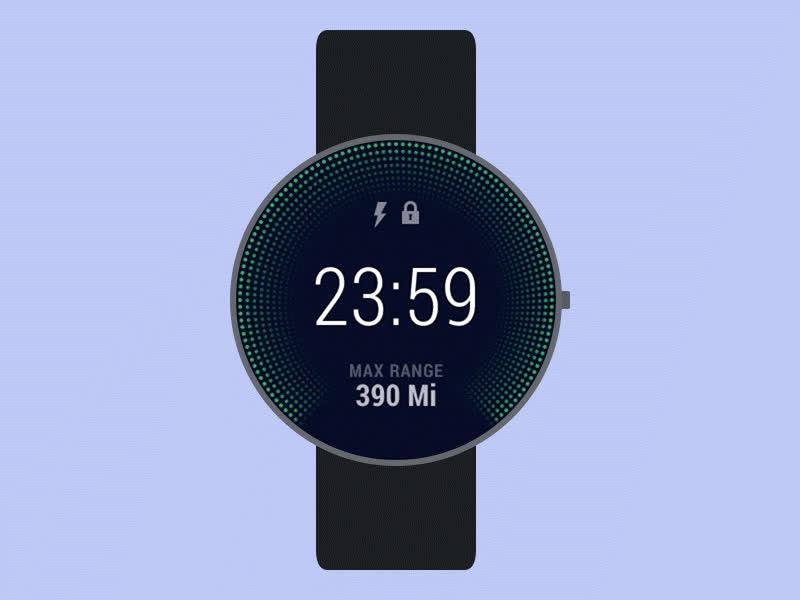 teslacar androidwear animation GIFs