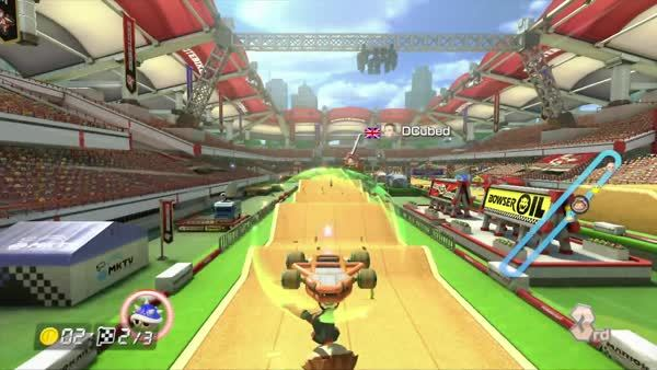 bombs, mariokart, shells, Avoiding Bombs and Blue Shells GIFs