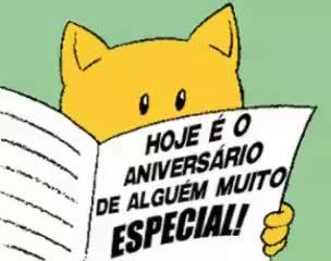 Watch and share Feliz Aniversário !! Parabéns !! Mensagem Em Gif GIFs on Gfycat